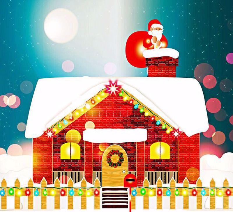 Santa Loves A Clean House