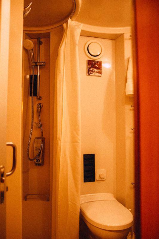 Warm Winter Bathroom