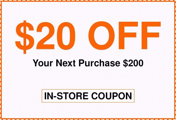 $20 Off $200 Home Depot Coupon In-Store Only | home depot promo codes $20 off | WeAreCoupons.com