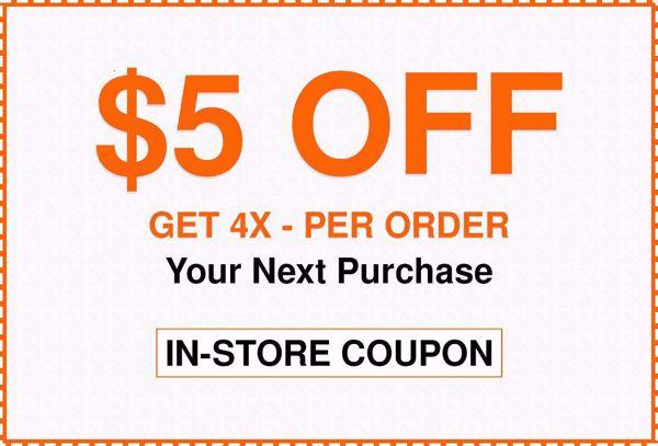 $5 Off Home Depot Coupon